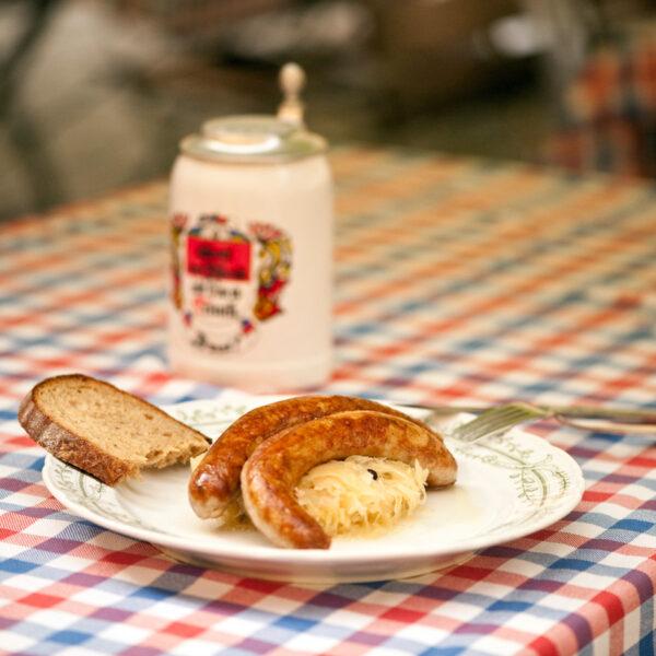 Fränkische Bratwurst
