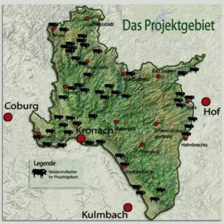 Frankenwald Weiderinder