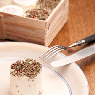 Käse aus oberfränkischer Ziegenmilch
