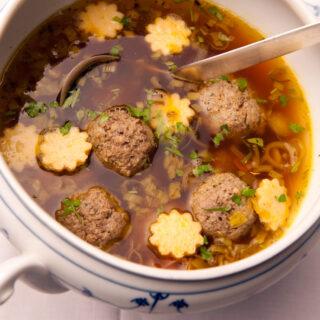 Suppeneinlagen nach fränkischer Tradition