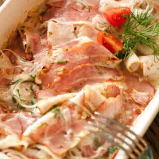 Zwiebelfleisch (kalt zubereitet)