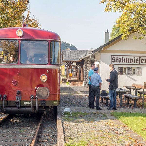 Eine Genusstour im Landkreis Kronach - Auf der Rodachtalbahn