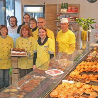 Konditorei und Bäckerei Hader, Hof