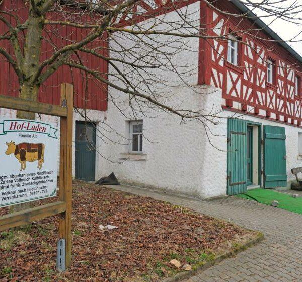 Frische Ernte Bäuerliche Qualitätsprodukte aus der Fränkischen Schweiz, Leutenbach