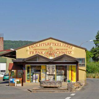 Obstgroßmarkt Fränkische Schweiz e. G. - Pretzfelder Fruchtsäfte, Pretzfeld