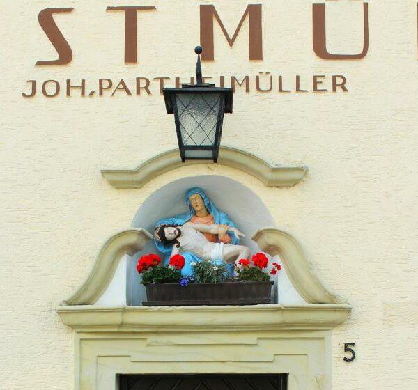 Hans Partheimüller - Kunstmühle, Stadtsteinach