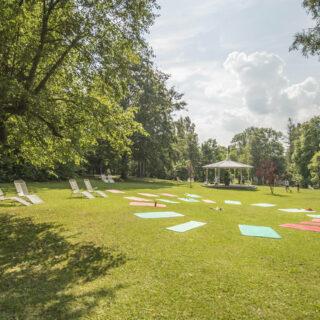 Bad Steben: Besuch im Kurpark