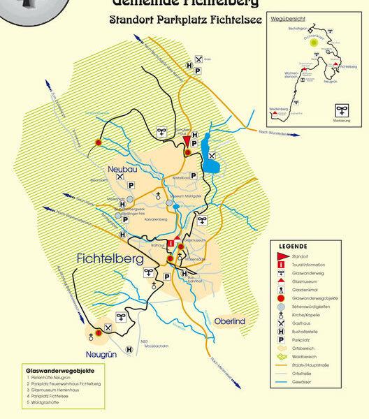 Fichtelgebirge: Auf gläserner Spur - Der Glaswanderweg von Weidenberg bis zum Ochsenkopf