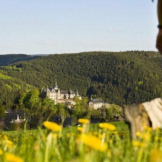 Frankenwald: Wandern auf dem Burgenweg