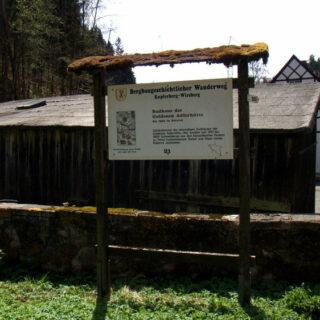 Goldene Adlerhütte: Naturlehrpfad und bergbaukundlicher Lehrpfad im Kosertal