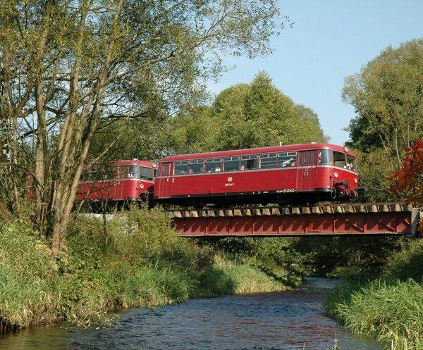 Nordhalben - Steinwiesen: Museumseisenbahn Oberes Rodachtal