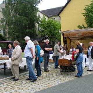 Sparneck: Auf dem Bäckermarkt
