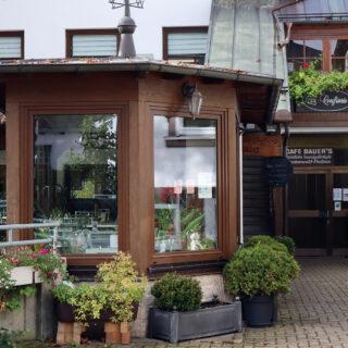 Frankenwald-Confiserie und Café Bauer, Ludwigsstadt-Lauenstein